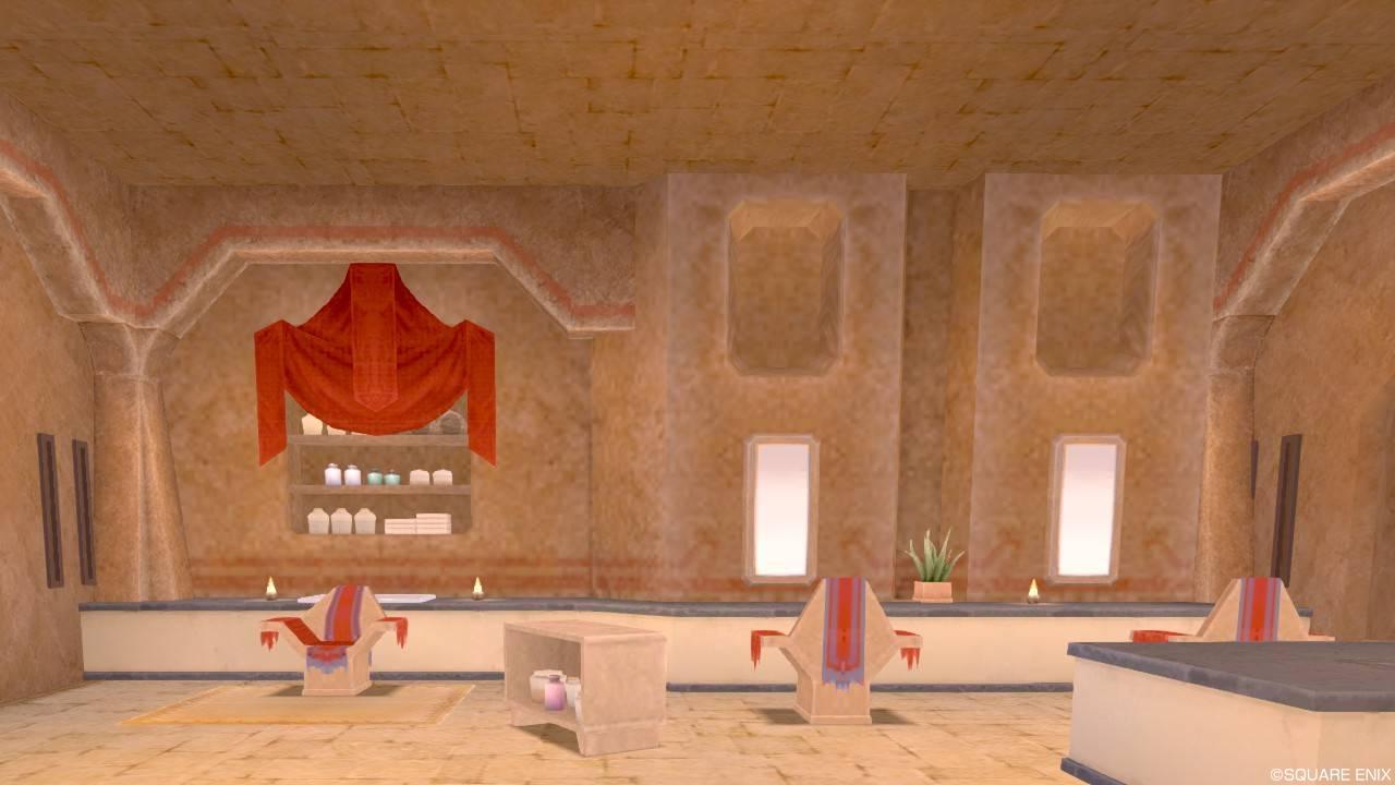 ガートラント 美容院 施術スペース