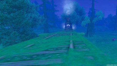 七不思議「深き森の幽霊列車」を撮ってみた!