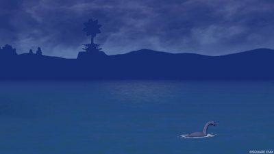 七不思議「プクランドの首長竜」を撮ってみた!