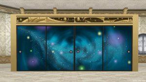 銀河のふすま 家具 2017年七夕家具