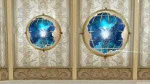 壁かけ宇宙船窓 家具 2018七夕家具