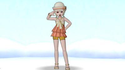 【ドラクエ10】しぐさ「美少女怪盗のポーズ」
