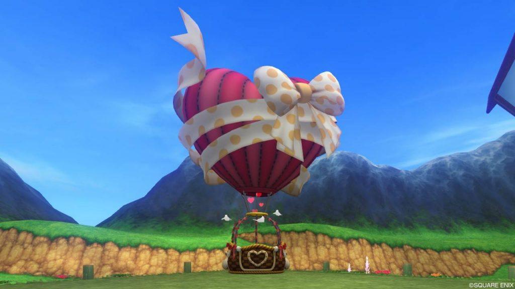 ハート気球のガゼボ 扉あり