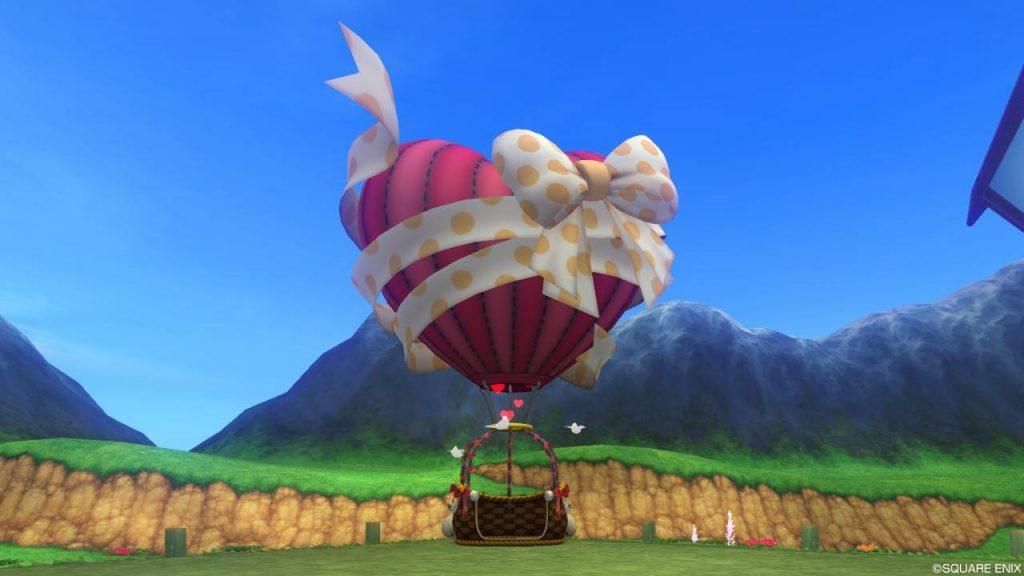 ハート気球のガゼボ