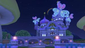 【パラダイスな家】虹の宮殿の家 むらさき(夜)