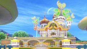 【パラダイスな家】虹の宮殿の家 黄色(昼)