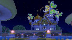 【パラダイスな家】虹の宮殿の家 黄色(夜)