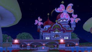 【パラダイスな家】虹の宮殿の家 赤(夜)