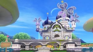 【パラダイスな家】虹の宮殿の家 黒(昼)