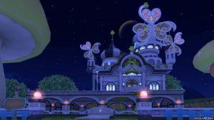【パラダイスな家】虹の宮殿の家 黒(夜)