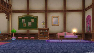 真のグランゼドーラ王国 美容院 待合室