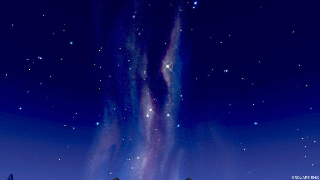 七夕の里 星見の台 天の川