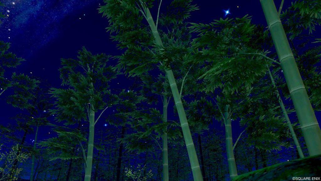 七夕の里 旅の扉 竹林