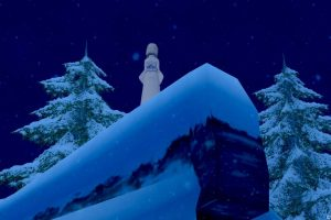 七不思議「吹雪にほほえむ雪女」を撮ってみた!