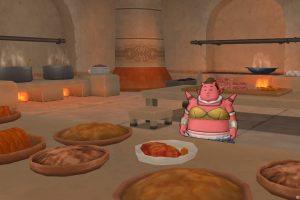 ガートラント城2階 厨房 デヤーサ 【DQ10】クエスト012「コックはいつも大忙し」
