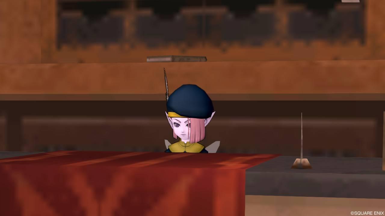 ガートラント城下町 郵便局 便せん屋イチハ【DQ10】クエスト025「猛き闘士の結晶」