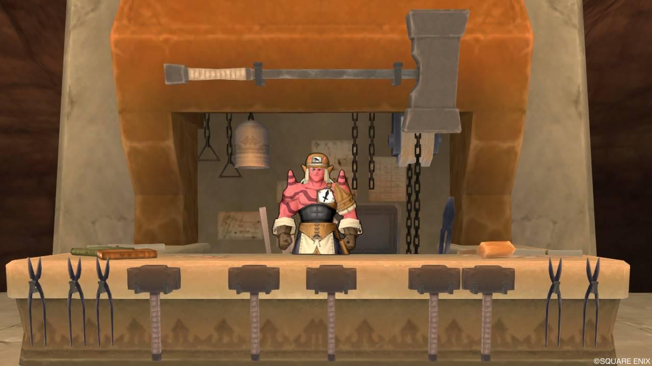 グレン城 武器鍛冶ギルド マスター・ラセド 追憶の武器鍛冶職人