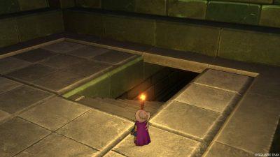 【ドラクエ10】期間限定イベント「大魔王ゾーマへの挑戦」階段