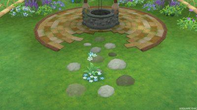 アストルティアの水色花