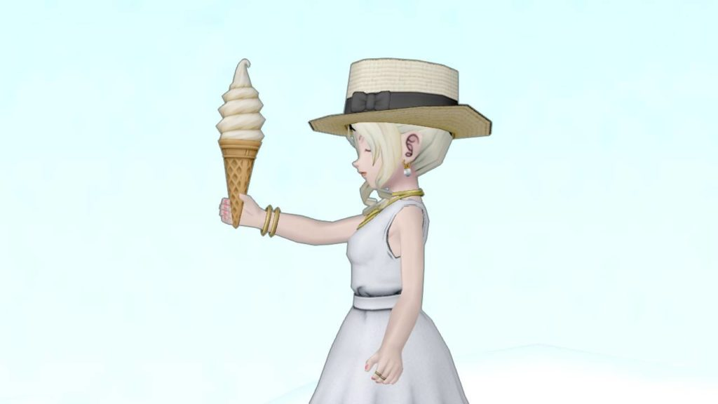 【装備】その他 >かさ「ソフトクリーム傘」