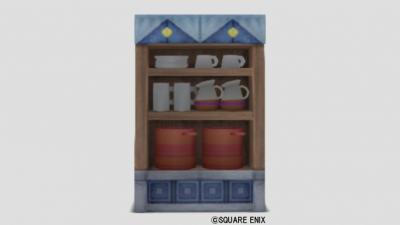 ドワーフ食器棚