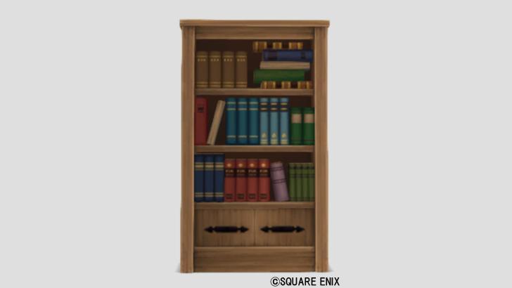白木の本棚