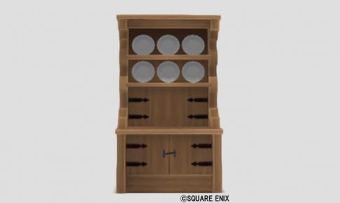 白木の食器棚