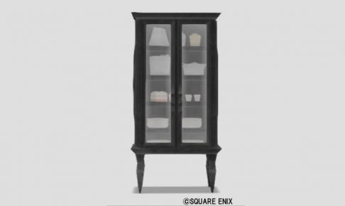 黒曜の食器棚