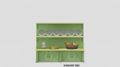 プクリポ食器棚