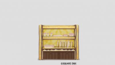 お菓子の食器棚