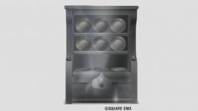 メタスラの食器棚