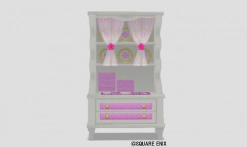 お姫様食器棚・桃