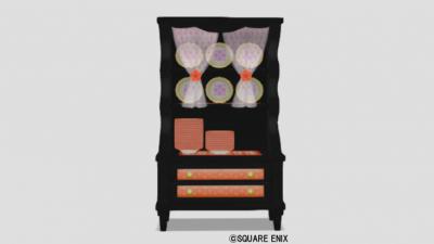 お姫様の食器棚・橙
