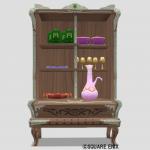 王宮の食器棚・赤