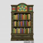 光飾りタイルの本棚