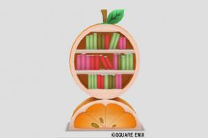 オレンジの本棚