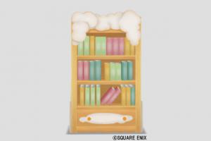 ふわふわ雲の本棚