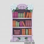 白バラの本棚