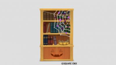 カボチャの本棚