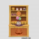 カボチャの食器棚
