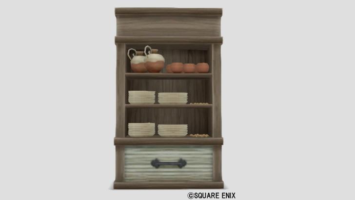 ウェディ食器棚