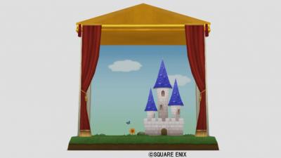人形劇の背景セット