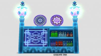 氷の領界の飾り棚
