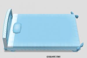 マリン調のベッド