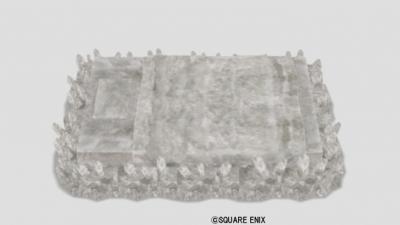 水晶のベッド