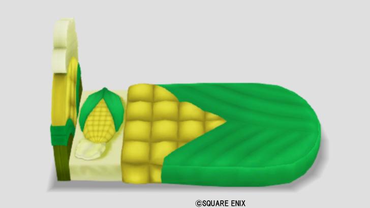 モロコシのベッド