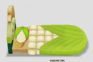 モロコシのベッド・白