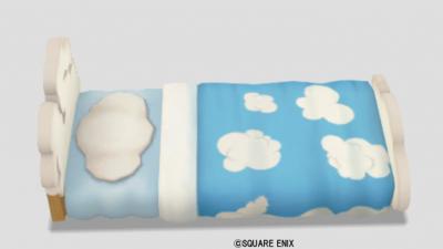 ふわふわ雲のベッド
