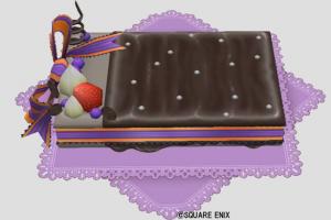 チョコレートのベッド