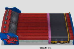Vロンのベッド・赤